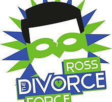Ross, The Divorce Force - Friends by ImEmmaR