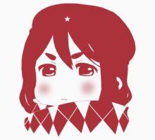 Mugi Revolution (Red Stencil) Kids Clothes