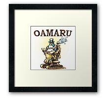 Steampunk Penguin Oamaru Framed Print
