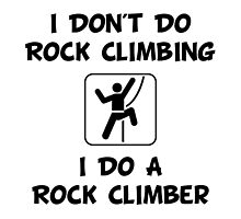 Do A Rock Climber by TheBestStore
