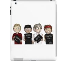 smalla then 5 bugs iPad Case/Skin