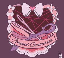 Grand Couturier Emblem - Dark BG by munchkinworks