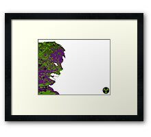"A Splash of Heroism: ""Hulk"" Framed Print"