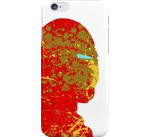 "A Splash of Heroism: ""Iron Man"" iPhone Case/Skin"