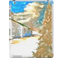 Christmas In The Country iPad Case/Skin