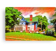Glick Mansion  Canvas Print