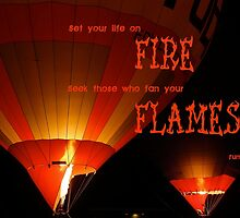 Set Your Life On Fire by lamplightcards