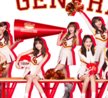 Girls Generation - Oh - Cheerleaders Sticker