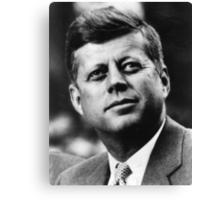 JFK - T-Shirt Canvas Print