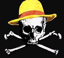 Mugiwara's Jolly Roger by FOGdark