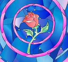 enchanted rose by chicamarsh1