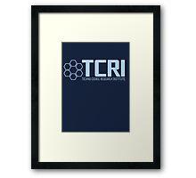 TCRI Framed Print