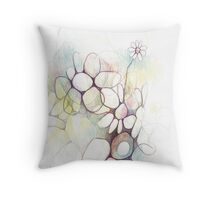 Watch as we grow Throw Pillow