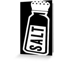 Salt \ Peppa 1/2, White Ink | Women's Best Friends Shirts, Bff Stuff, Besties, Halloween Costume, Salt And Pepper Shakers Greeting Card