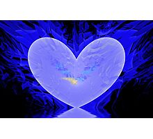 Cool Heart Photographic Print