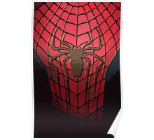 Comic-Colored Spider-Man Poster