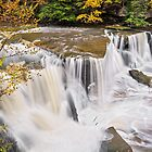 Waterfall on Tinker's Creek by Kenneth Keifer