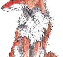 Fox by Inkspot by M.R.  Inkspot