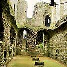 Richmond Castle, Yorkshire by hans p olsen
