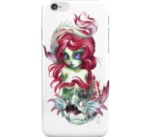 mermaid girl from mars iPhone Case/Skin