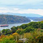 Fall on the Hudson by Barbny