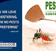 A Quotographic by Ambassador Pest Management by Infographics