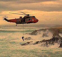 Royal Navy Rescue  by J Biggadike