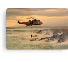 Royal Navy Rescue  Metal Print