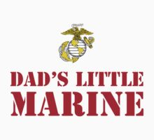DAD'S LITTLE MARINE by PARAJUMPER