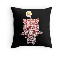 Moogleverse (red) Throw Pillow