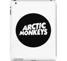Arctic monkeys Round Logo iPad Case/Skin