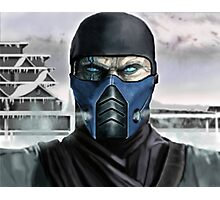 Sub Zero portrait Photographic Print