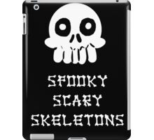 Spooky Scary Skeletons iPad Case/Skin