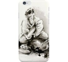 Sumi-e martial arts, samurai large poster for sale iPhone Case/Skin
