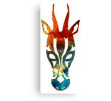 Antelope, Africa, Space, Cosmos, Galaxy, Universe Canvas Print
