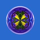 Dandy Four Abstract Globe by Robert Gipson