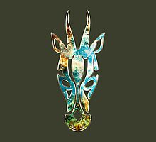 Antelope, Africa, Space, Cosmos, Galaxy, Universe by boom-art