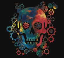 Skull, Space Pirate, Cosmos, Galaxy, Universe Kids Clothes