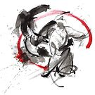 Samurai battle best gift ideas, samurai artwork for sale by Mariusz Szmerdt