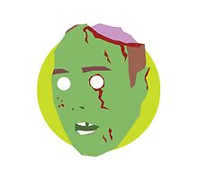 'Karl Pilkington' Halloween Zombie by ComedyQuotes