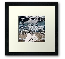 """Dreaming of Life"" Aquatint Etching Framed Print"