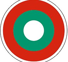 Bulgarian Air Force Roundel  by abbeyz71