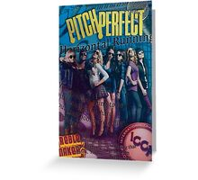 Pitch Perfect Collage Greeting Card