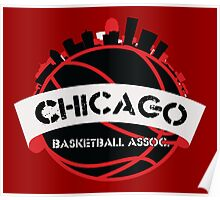 Chicago Basketball Association Poster