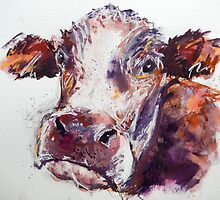 Gloomy Cow by Louise Fletcher