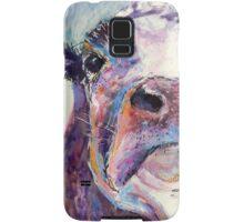 Purple Cow Samsung Galaxy Case/Skin