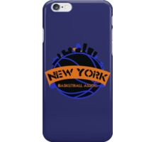 New York Basketball Association iPhone Case/Skin