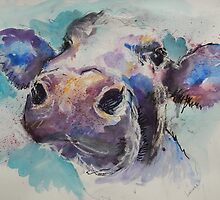 Cheeky Cow by Louise Fletcher