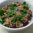 Quinoa, Beans and Corn by Michael Redbourn