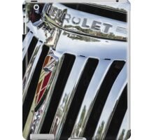 1946 Chevrolet Grill iPad Case/Skin